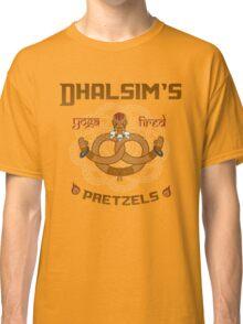 Street Vendor 2- Dhalsim's  yoga fired Pretzels Classic T-Shirt