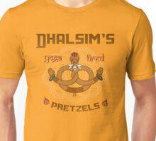 Street Vendor 2- Dhalsim's  yoga fired Pretzels Unisex T-Shirt
