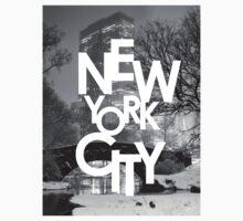 Gapstow Bridge and New York City T-Shirt