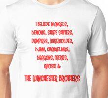 I believe. Unisex T-Shirt