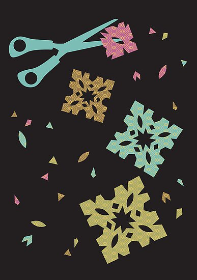 Paper and Scissors by Gina Rollason