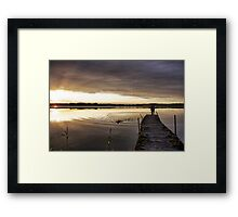 Clear light Framed Print