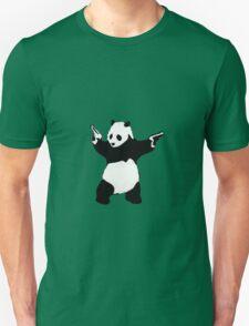 Banksy Panda With Handguns T-Shirt