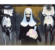 Alien Nun Photographic Print