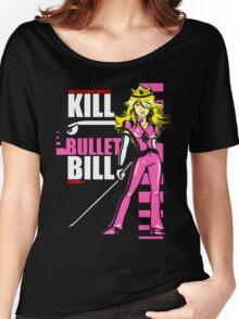 Kill Bullet Bill (Black & Magenta Variant) Women's Relaxed Fit T-Shirt