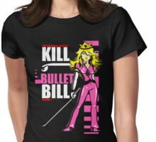 Kill Bullet Bill (Black & Magenta Variant) Womens Fitted T-Shirt