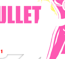 Kill Bullet Bill (Black & Magenta Variant) Sticker