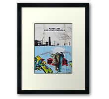 Paseo Del Rey Juan Carlos 1 Framed Print
