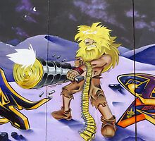Futuristic Robinson Crusoe by wiggyofipswich