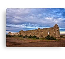 Cottage Creek Ruins Canvas Print