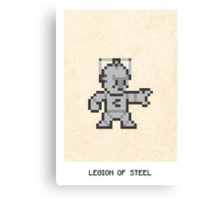 Legion Of Steel Canvas Print