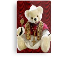 † ❤ † POPE BEAR SPRINKLES BLESSINGS TO ALL † ❤ † Metal Print
