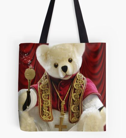 † ❤ † POPE BEAR SPRINKLES BLESSINGS TO ALL † ❤ † Tote Bag