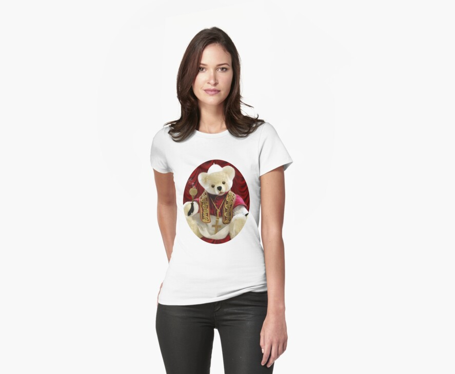† ❤ † POPE BEAR SPRINKLES BLESSINGS TO ALL TEE SHIRT † ❤ † by ✿✿ Bonita ✿✿ ђєℓℓσ