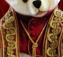 † ❤ † POPE BEAR SPRINKLES BLESSINGS TO ALL TEE SHIRT † ❤ † Sticker