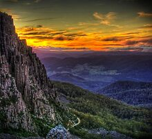 Tasmanian Landscapes by Marcus Salter by Marcus Salter