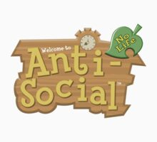 Animal Crossing Anti-Social by 8-bit-hobo
