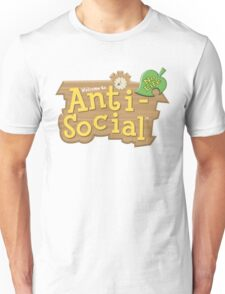 Animal Crossing Anti-Social Unisex T-Shirt