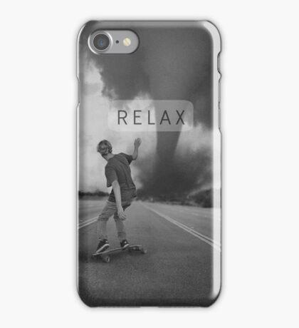 B&W Relax Skate iPhone Case iPhone Case/Skin