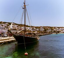 boat in harbor by giannis488