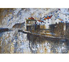 Rain, Staithes Photographic Print