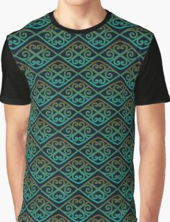 Ornamental waves Graphic T-Shirt