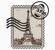 Paris Stamp T-Shirt