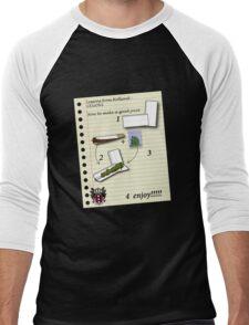 smoke weed Men's Baseball ¾ T-Shirt