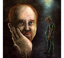 Louis C.K. Dripping Awesome Sauce Photographic Print