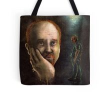 Louis C.K. Dripping Awesome Sauce Tote Bag