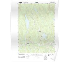 USGS TOPO Map New Hampshire NH Canaan 20120508 TM Poster