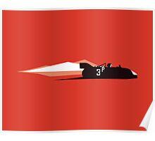 Speed Mountains of the Targa Florio - Porsche 908  Poster