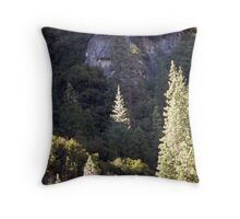Glowing Tree Throw Pillow