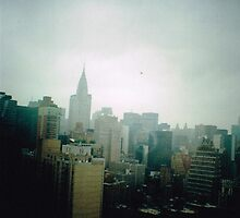 New York Skyline by meadythebrave