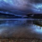 Lake Rotoiti at sunrise by Robyn Carter