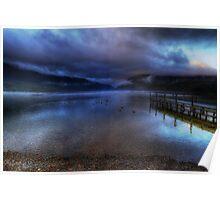 Lake Rotoiti at sunrise Poster