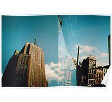 Blue New York Poster