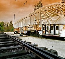 Trolley Undercover, Perris CA by Larry3