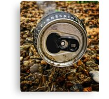 Just a tin can Canvas Print
