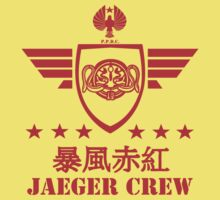 Jaeger Crew Crimson Typhoon v2 by kingUgo