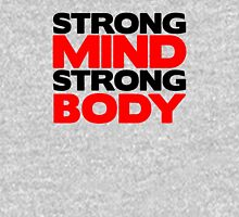 Strong Mind Strong Body | Fitness Slogan Unisex T-Shirt