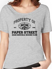 Property of Paper Street Bare Knuckle Boxing Club Women's Relaxed Fit T-Shirt
