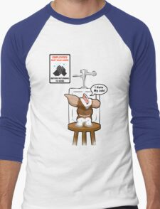 Gizmo Hates His Job Men's Baseball ¾ T-Shirt