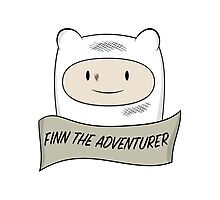 Fin The Adventurer Photographic Print