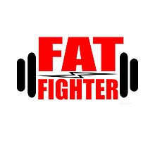 Fat Fighter Photographic Print