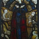 Stained Glass, Burrell Collection, Assumption Of The Virgin by MagsWilliamson