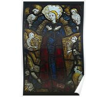 Stained Glass, Burrell Collection, Assumption Of The Virgin Poster