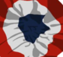 Revolution Rosette Sticker