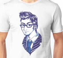 DOCTOR WHO - 10th Doctor Sketch Tee Unisex T-Shirt