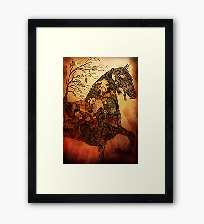 Chasm of Being Framed Print